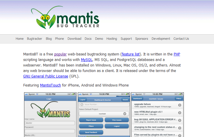 top 10 free open source bug tracking systems  u2013 software